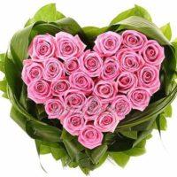 "Композиция из роз ""Люблю преданно"""