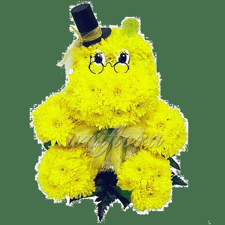 """Композиция """"Желтый бегемотик"""""""