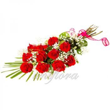Букет из 11 красных роз (импорт)