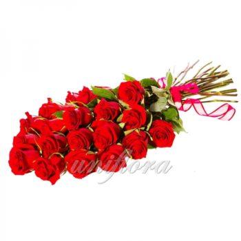 Букет из 19 красных роз (импорт)