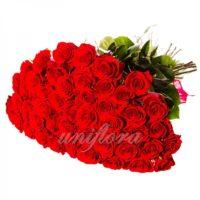 Букет из 49 красных роз (импорт)