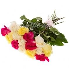 "Букет ""Микс"" из 15 роз (импорт)"