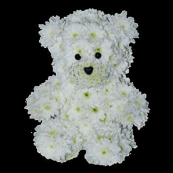 """Композиция """"Белый медвежонок"""""""