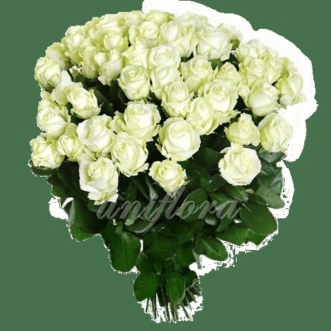 Букет из 101 белой розы | Аваланш (укр)