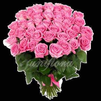 Букет из 51 розовой розы | Аква (укр)