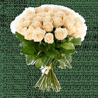 Букет из 51 кремовой розы | Талея (укр)