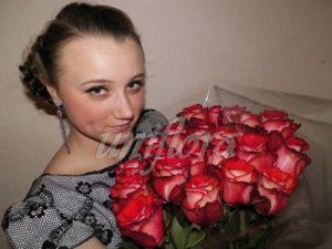 byket roz