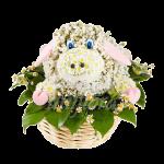 Козочка из цветов