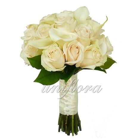 Свадебный букет «Изящная классика»