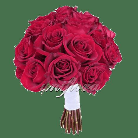 Свадебный букет «Пламя любви»
