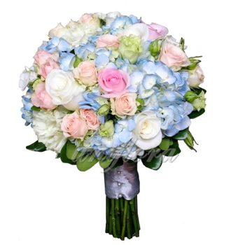 Свадебный букет «Радужный»