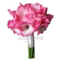 Свадебный букет «Розовое счастье»