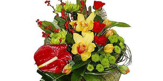 Цветы для мужчин на 23 февраля