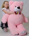 Плюшевый мишка 130см. Розовый